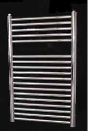 Toallero inox cromado 80 cm climaplat for Toalleros electricos cromados